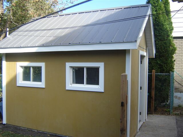 Garden shed roof cladding wooden playhouse kits uk for How much will it cost to build a shed